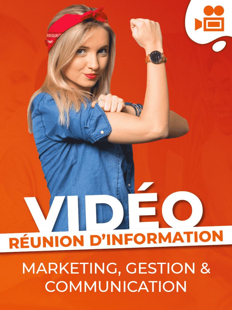 Réunions d'information – Formation Marketing, Communication et Gestion
